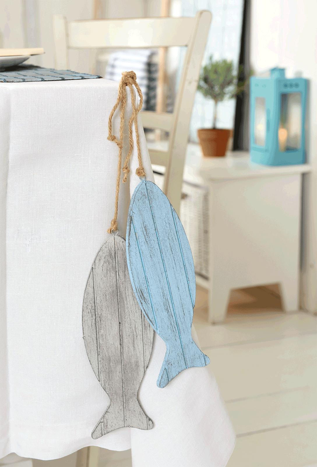 Maritime sommer deko marabu kreativ for Holzpfahl deko