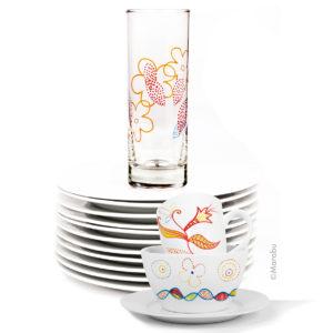 5 x Glas Glass Paint Marker Painter Pen Marker Marabu 3-4mm  NEW Porcelain Metal